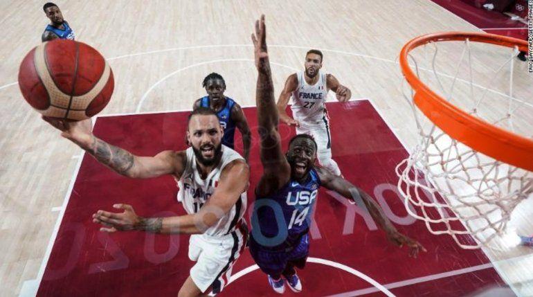 Francia barre a Estados Unidos y le endosa su primera derrota olímpica desde Atenas 2004