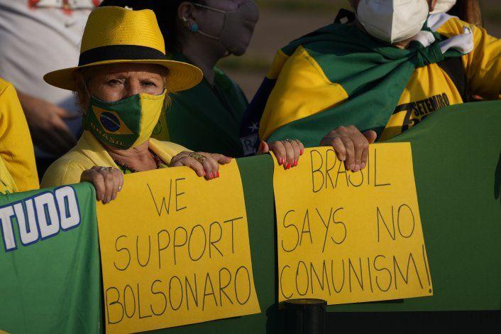 Bolsonaro convoca a simpatizantes en Día de la Independencia