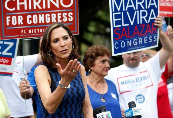 Régimen cubano reacciona a propuesta de ley de María Elvira Salazar