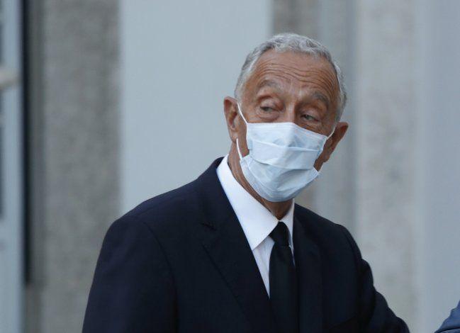 Presidente de Portugal, de 72 años, positivo por coronavirus