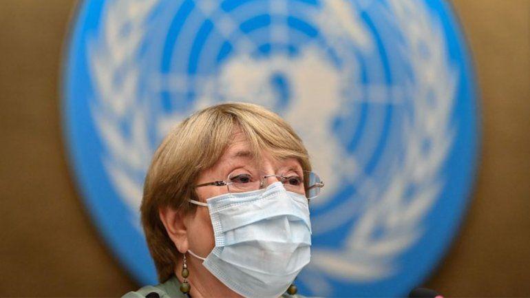 Michelle Bachelet pide la liberación de todos los manifestantes detenidos durante las protestas en Cuba