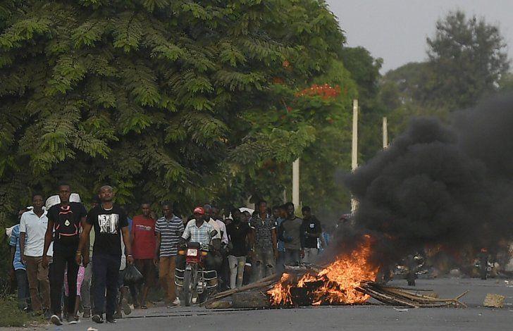 Haití: Violencia ensombrece oficios en memoria de Moïse