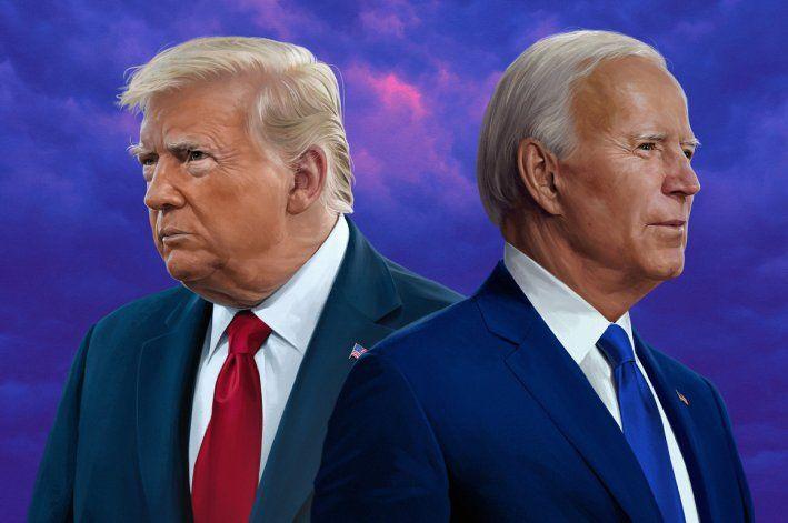 Encuesta: Trump vencería hoy a Biden