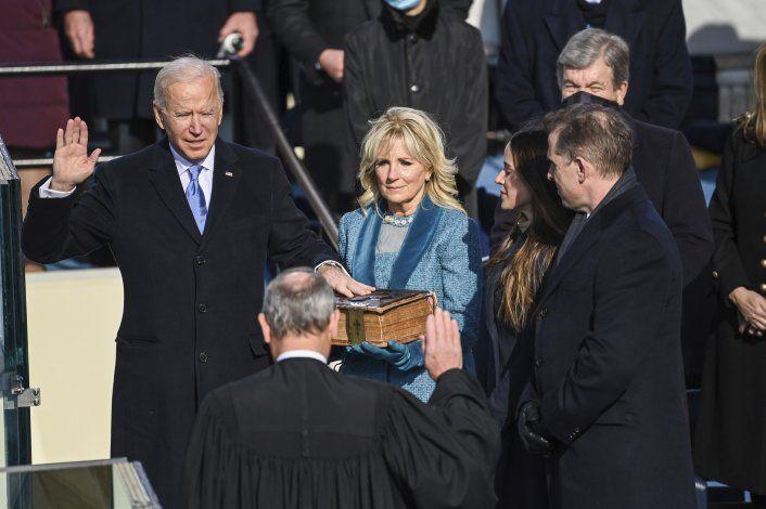 Joe Biden toma posesión como el presidente número 46 de Estados Unidos