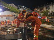china: sube a 17 el numero de muertes en derrumbe de hotel