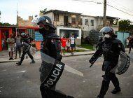 fiscalia militar acusa a policia que mato a un manifestante en la güinera