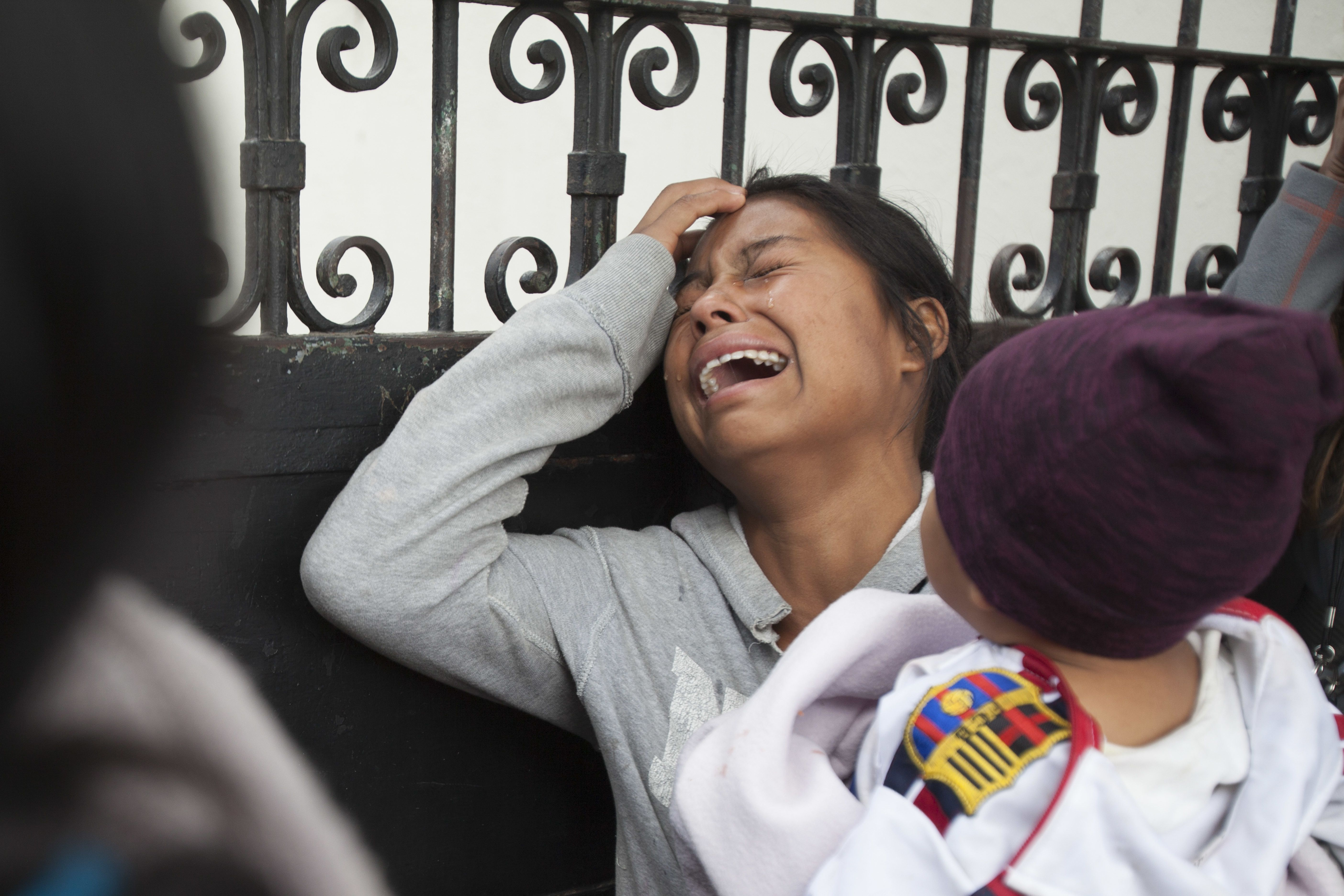guatemala: sobrevivientes de incendio en riesgo dice ong