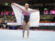 melnikova oro en combinados del mundial de gimnasia en japon