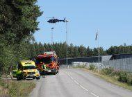 reclusos toman a dos guardias de prision sueca como rehenes