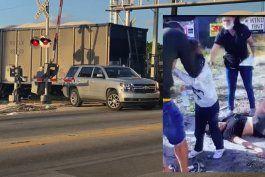 accidente en hialeah: una familia cubana con un nino menor de edad fue impactada por un tren