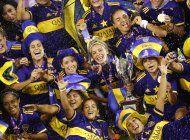 boca, 1er campeon profesional del futbol femenino