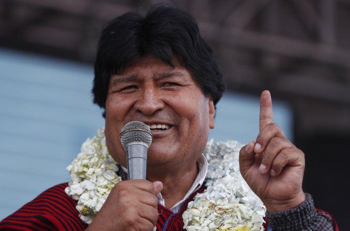 Evo Morales se recupera bien tras dar positivo a COVID-19