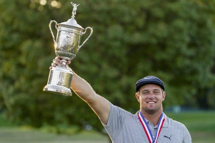 Bryson DeChambeau gana el U.S. Open