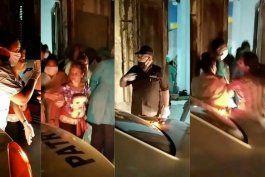 sale a la luz primer video del arresto a los miembros del movimiento san isidro