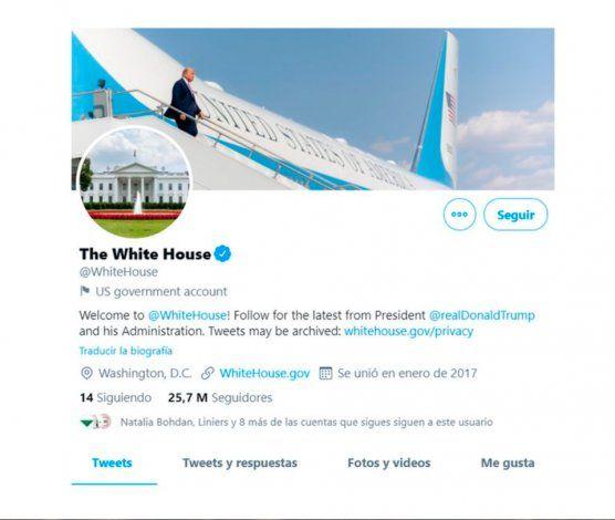 Twitter entregará las cuentas oficiales de la Presidencia estadounidense a Biden aunque Trump no acepte la derrota
