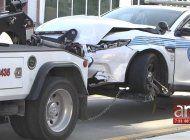 aparatoso accidente en la pequena habana involucra a una patrulla