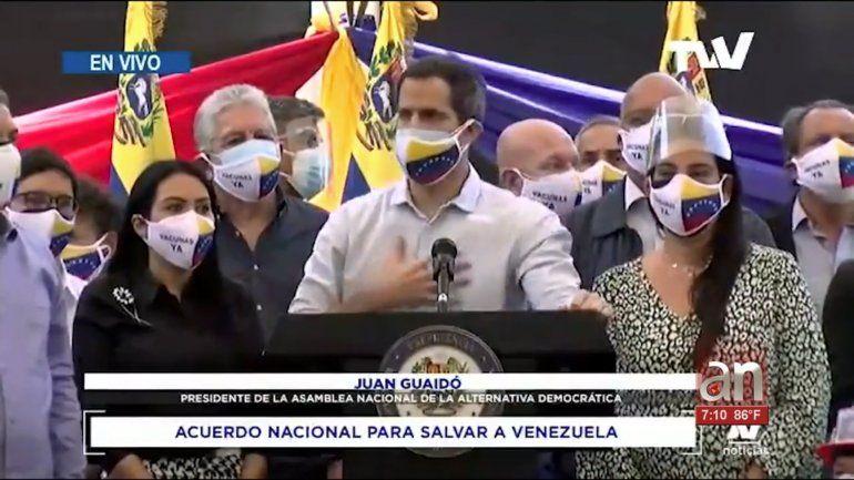 Maduro les responde a Guaidó sobre el «acuerdo de salvación nacional»