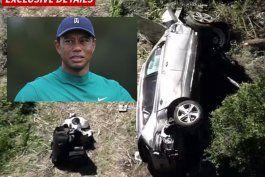 tiger woods sufrio un fuerte accidente automovilistico y fue hospitalizado