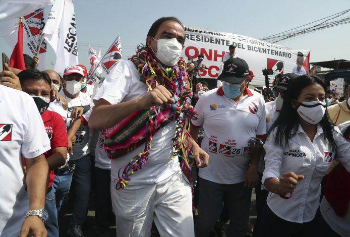 Biografías de principales candidatos a presidencia de Perú