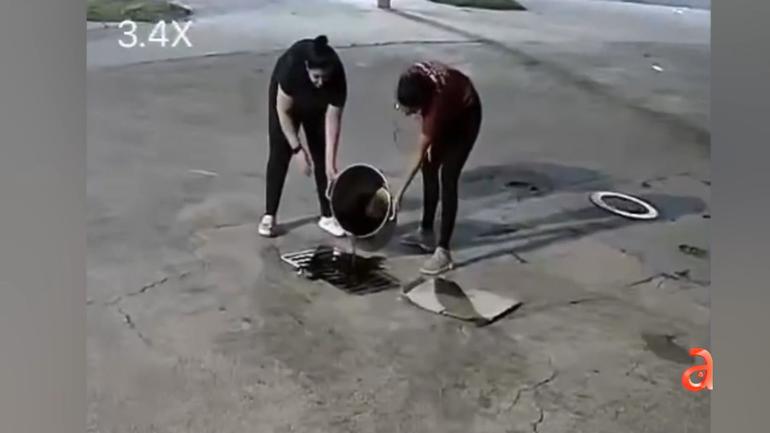 Buscan a dos mujeres que vertieron aceite de cocinar en el sistema de alcantarillado de la ciudad de Miami