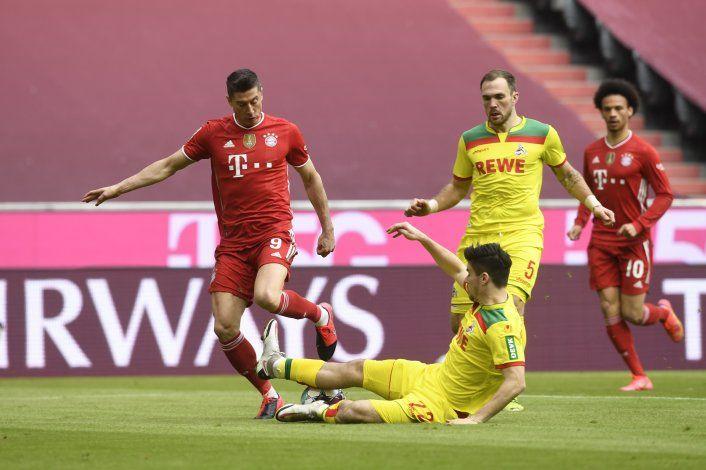 Bayern se consolida en la liga con triunfo ante Colonia
