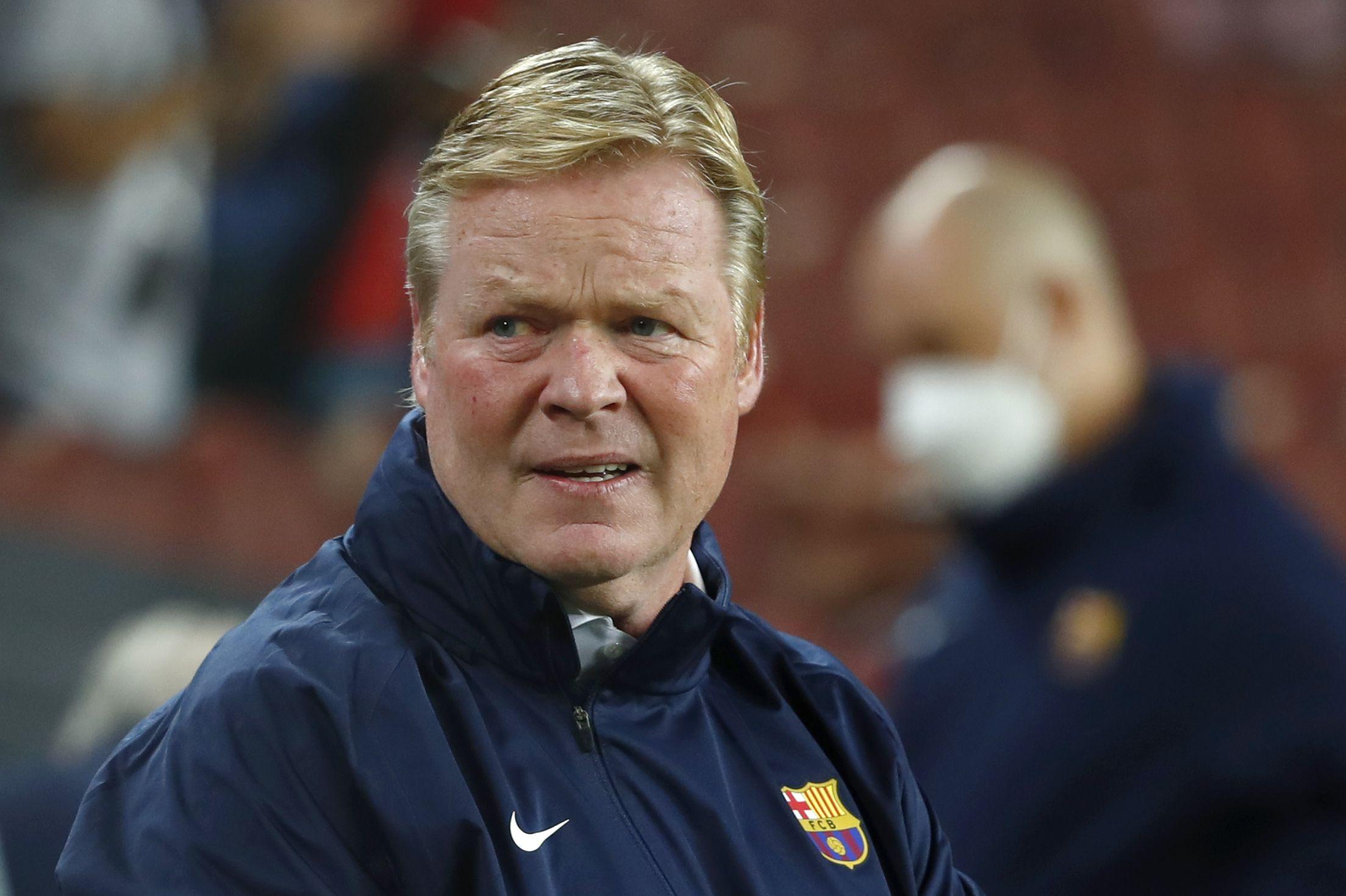 koeman: el club me apoya, no se pueden esperar milagros
