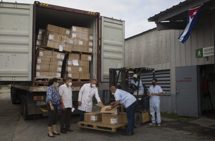 ONGs de EEUU envían jeringas a Cuba como donación