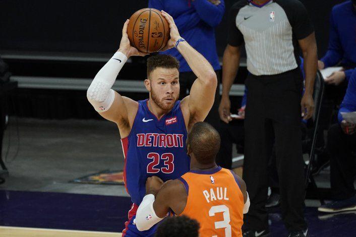 Fuente AP: Pistons y Griffin acuerdan rescisión de contrato