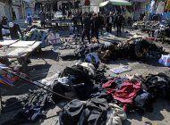 estado islamico se atribuye un doble atentado en bagdad