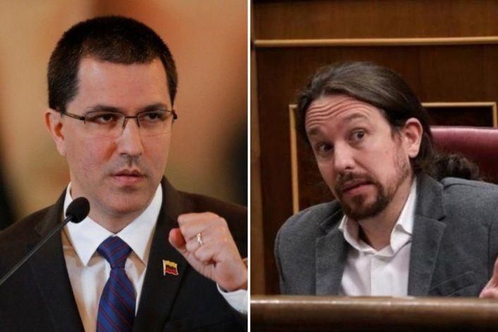 Supuesto encuentro de Pablo Iglesias con Arreaza genera escozor en diplomacia española