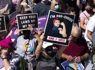 miles de mujeres marchan en eeuu en defensa del aborto