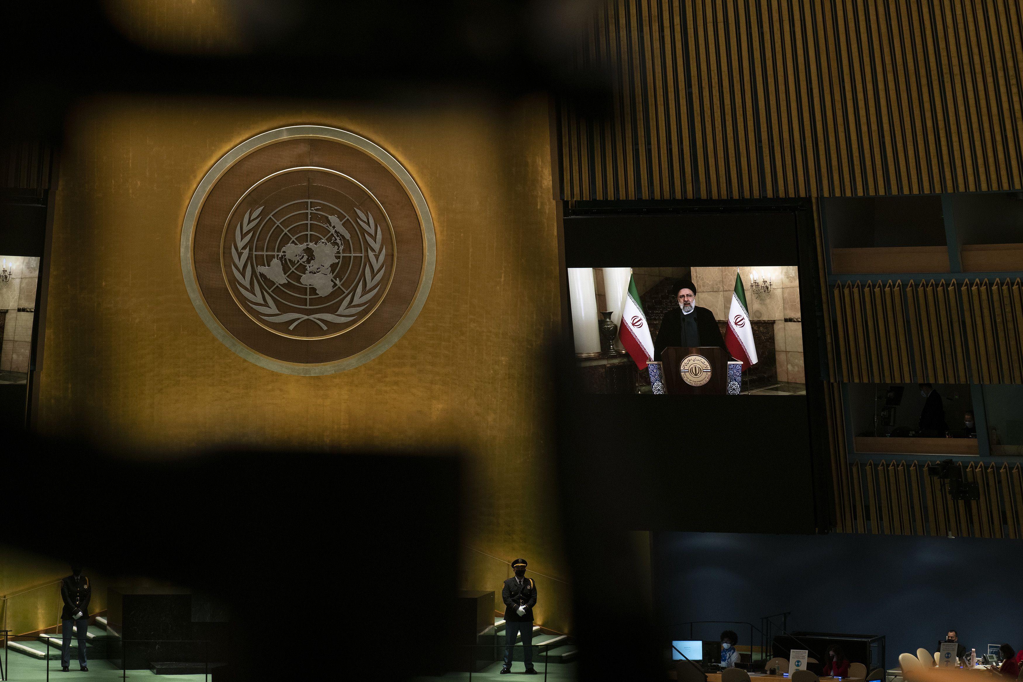 onu: el nuevo presidente de iran critica sanciones de eeuu