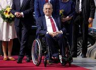 problemas de salud impiden trabajar al presidente checo