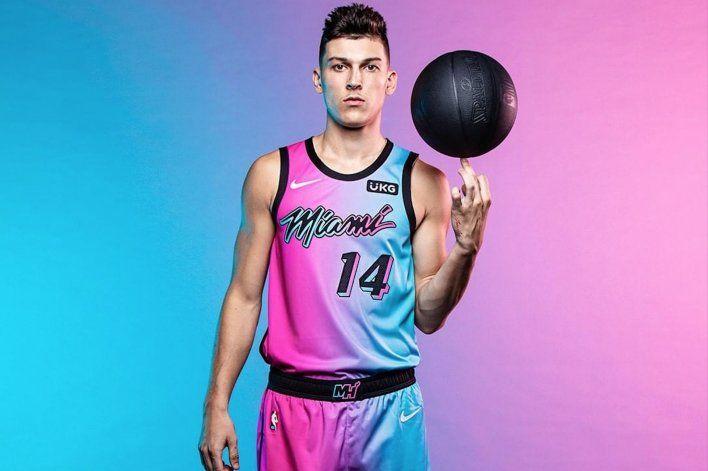 Miami Heatpresenta su nuevo uniforme para la nueva temporada