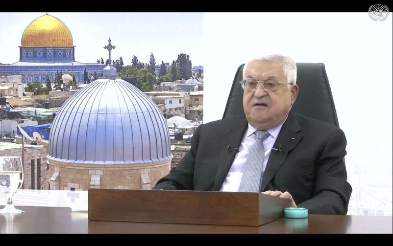 Abbas lanza ultimátum a Israel sobre ocupación