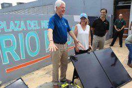La alcaldesa de San Juan, Carmen Yulín Cruz, indicó que se trata del inicio de un esfuerzo en conjunto con la Fundación Clinton para que la ciudad capital se convierta en ejemplo de generación de energía renovable.