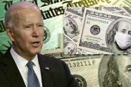 cheques de estimulo: biden reduciria elegibilidad sobre quienes recibiran los $1,400