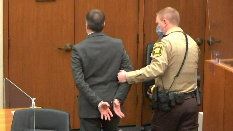 Esta captura de pantalla obtenida de la transmisión de video a través de Court TV