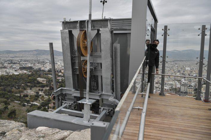 Acrópolis tendrá elevador y senderos para discapacitados