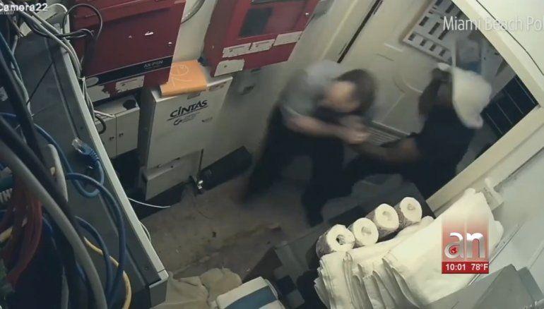 Arrestan en Pennsylvaniaa hombre que propinó brutal golpiza a gerente de Hotel en SouthBeach