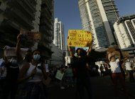 siguen protestas en panama por abuso a menores en albergues