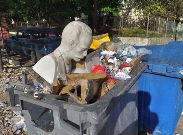 Régimen destapa red que robaba contenedores plásticos de basura