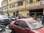 venezuela: explosion por cilindros de gas en edificio al oeste de caracas deja al menos 13 heridos