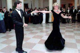 la noche que lady di bailo con john travolta y la casa blanca se paralizo