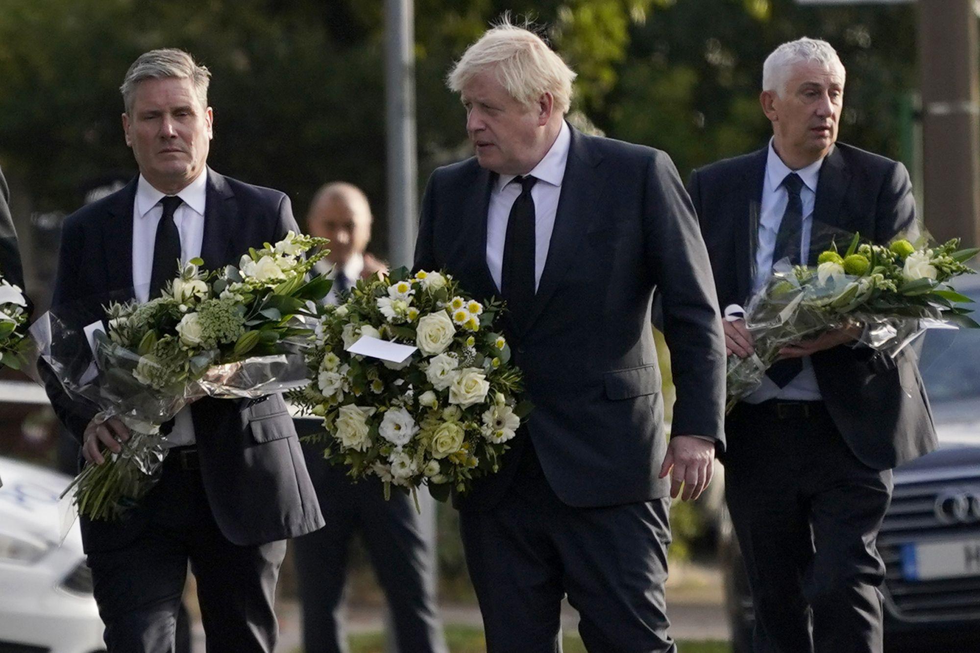 politicos britanicos homenajean a un legislador asesinado