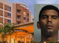 logran capturar  a cubano de miami tras olvidar su celular en la habitacion de un hotel donde habia robado