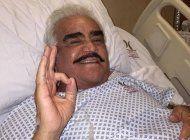 vicente fernandez envia un mensaje desde el hospital