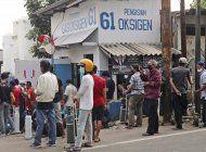 indonesia sufre escasez de oxigeno en medio de la pandemia