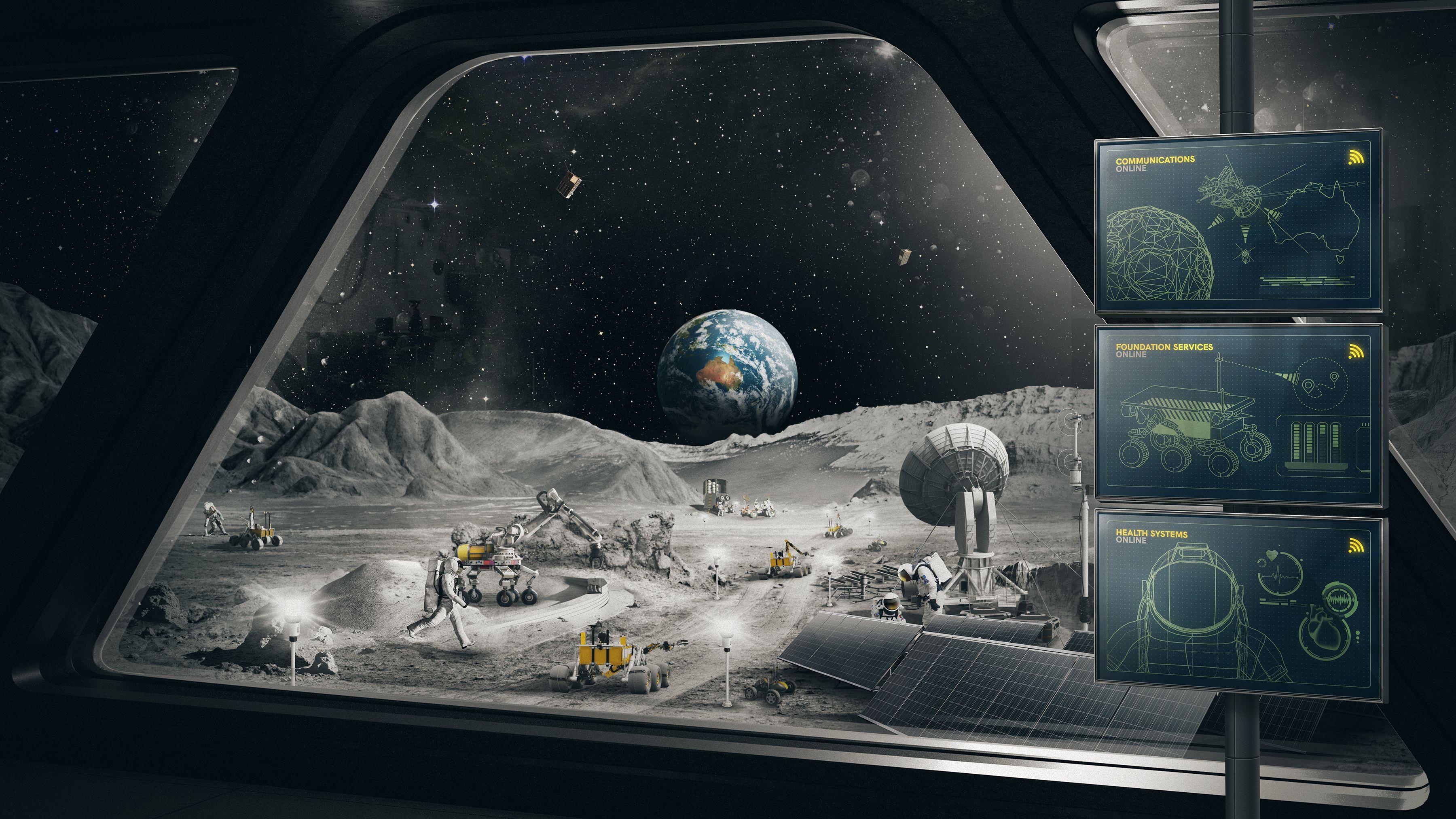 australia construira un vehiculo lunar para mision de nasa